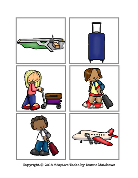 Come Fly with Me Airport Tasks