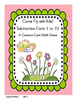 Come Fly with Me!  Subtraction Facts 1 to 10