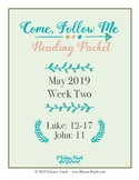 Come Follow Me Reading Packet May Week 2