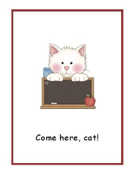 Come Here, Cat! Wonders Kindergarten Big Book (Unit 10)