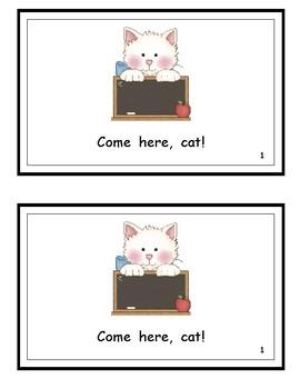 Come Here, Cat! Wonders Kindergarten Reader (Unit 10)