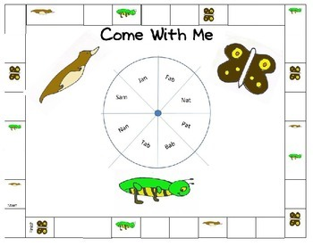 Come With Me - Decodable Reader