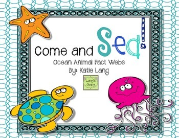 Come and Sea! Fact Webs for Ocean Animals