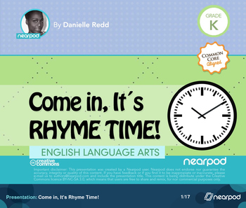 Come in, It's Rhyme Time!