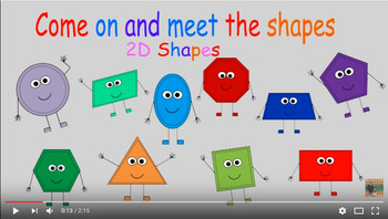 Come on and meet the 2D shapes