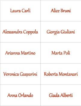 Come si chiama Lei? Formal Names in Italian