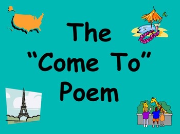 Come to... Poetry