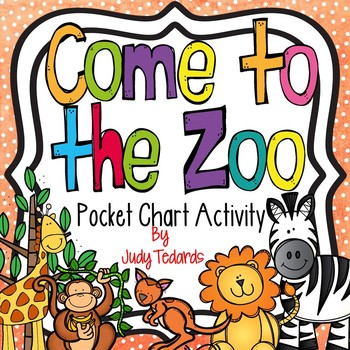Come to the Zoo (Pocket Chart and Book Making Activity)