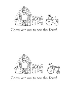 Come with me! Farm emergent sight word reader (Journeys Common Core 2014)