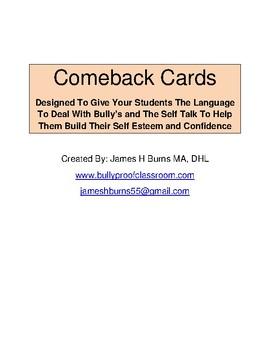 Comeback Cards