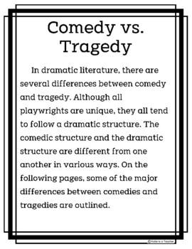 Comedy vs. Tragedy