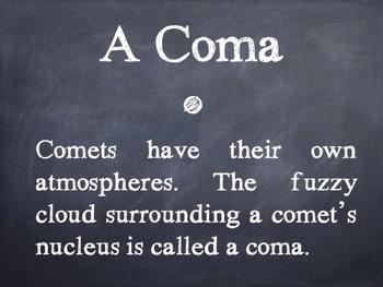 Comet Facts PowerPoint