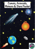 Comets, Asteroids, Meteors & Stars Packet
