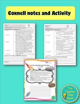 Comets, Asteroids, & Meteors Lesson (Presentation, notes, & activity)- Astronomy