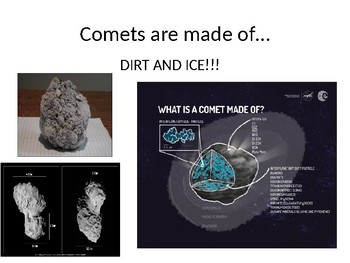 Comets: Background Knowledge (Pre-Reading Activity for ELs)