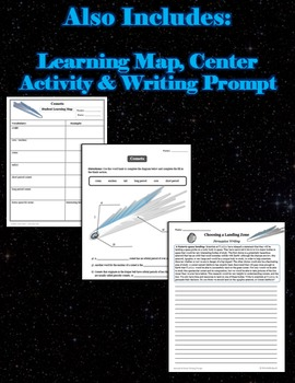 Comets - Lesson, Powerpoint & Printables