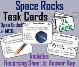 Comets, Meteors, Meteoroids, Meteorites, & Asteroids Task Cards Activity