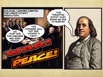 Comic 180: Early America, 6.1 PowerPoint (First Continental Congress) Assessment