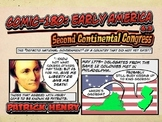 Comic 180 PowerPoint 6.3, Second Continental Congress