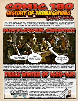 Fun History of American Thanksgiving by Comic 180