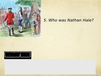 Comic 180 PowerPoint 6.7, Victory/Death in the American Revolution