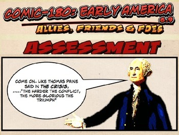 Comic 180 PowerPoint 6.9: Allies, Friends & Foes of the Am