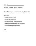 Comic Book Assignment