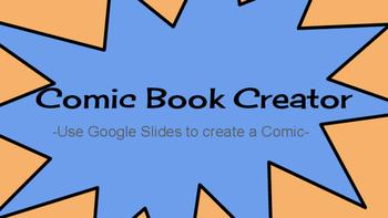 Comic Book Creator: Use Google Slides to Create Comic Books