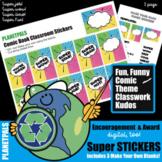 Comic Book Digital Grading Achievements Fun Classwork Stic