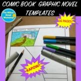 Comic Book Graphic Novel Templates Paper