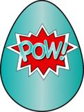 Comic Book Hero Easter Egg