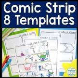 Comic Strip Template (Comic Book Paper)