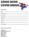 Comic Book Planning worksheet