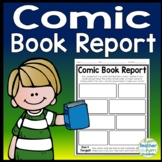Comic Book Report: Students Love to Design a Comic Strip about their Book!