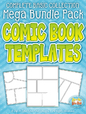 Comic Book / Strip Templates Mega Bundle {Zip-A-Dee-Doo-Dah Designs}
