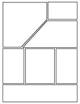Comic Book Template (Editable in Google Slides)