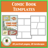 Comic Strip Templates/ Graphic Novel Templates Commercial Use