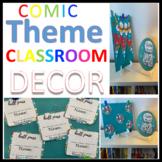 Comic Book Theme Classroom Decor Bundle