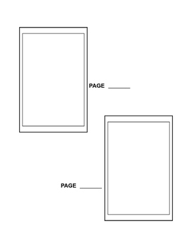 Free picture book thumbnail templates for writers and illustrators.