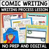 Comic Book Writing Digital and Printable  Activities