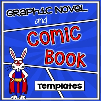 Comic Book and Graphic Novel Templates {Set of 24}