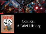 Quick Intro to Comic Books and Graphic Novels Presentation