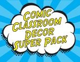 Comic Classroom - Super Hero Bundle - Editable