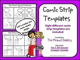 Comic Creations (Comic Strip Template Set)
