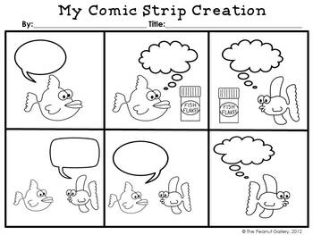 Comic strip grades