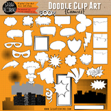 Comic Doodle Clip Art Collection