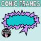 Comic Frames, Comic Book Speech Bubbles