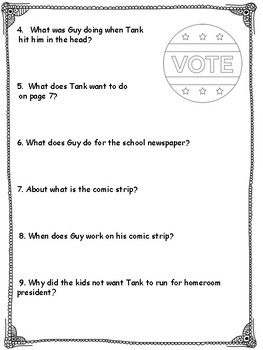 Comic Guy Our Crazy Class Election