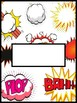 Comic Hero Binder Cover Pages