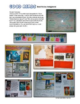 Comic Life Book Review Report Book Talk Assignment